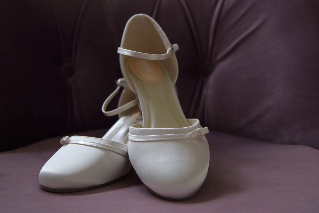minimalist wedding shoes for the alternative bride