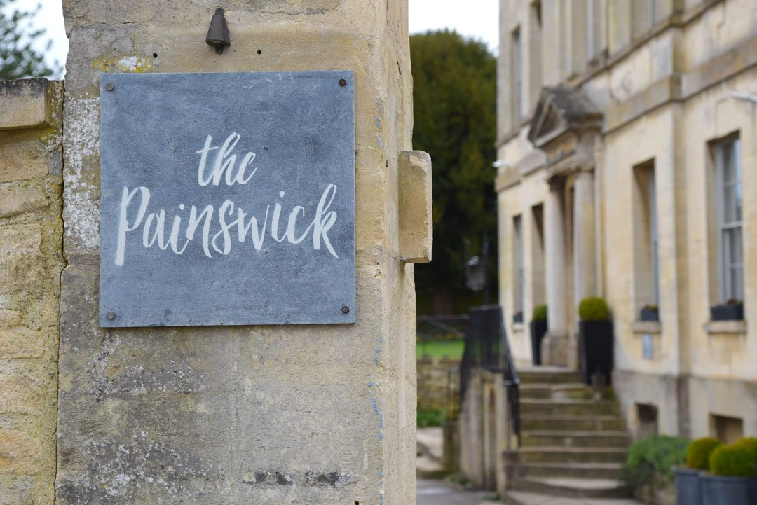 stunning wedding venue The Painswick Hotel in the Cotswolds