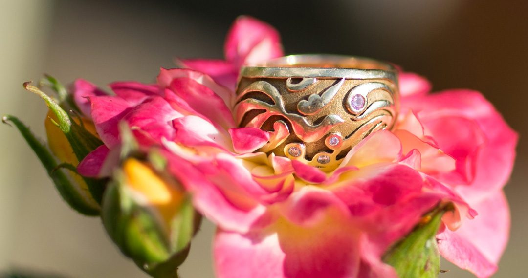 phoenix wedding band by Oria, Photography by Nadina Bee