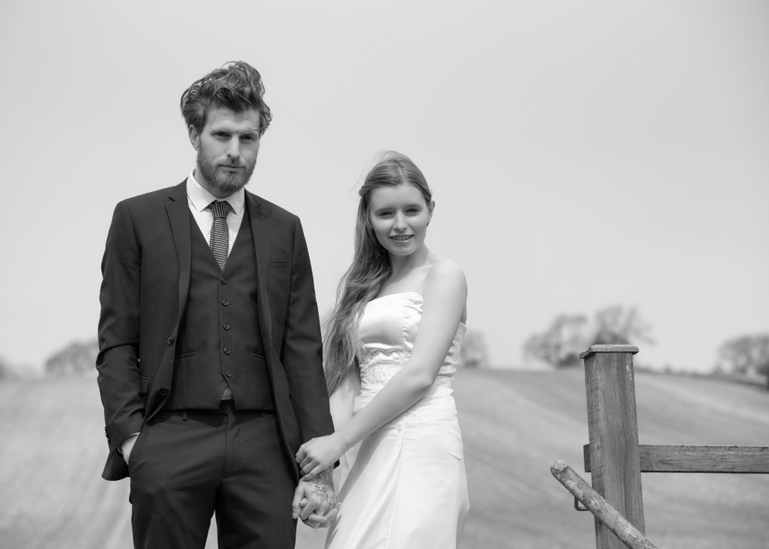alternative wedding photography Surrey Hampshire Sussex London in black and white