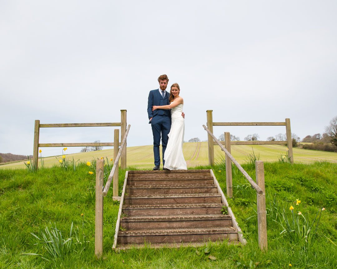 couple in nature, alternative wedding photography