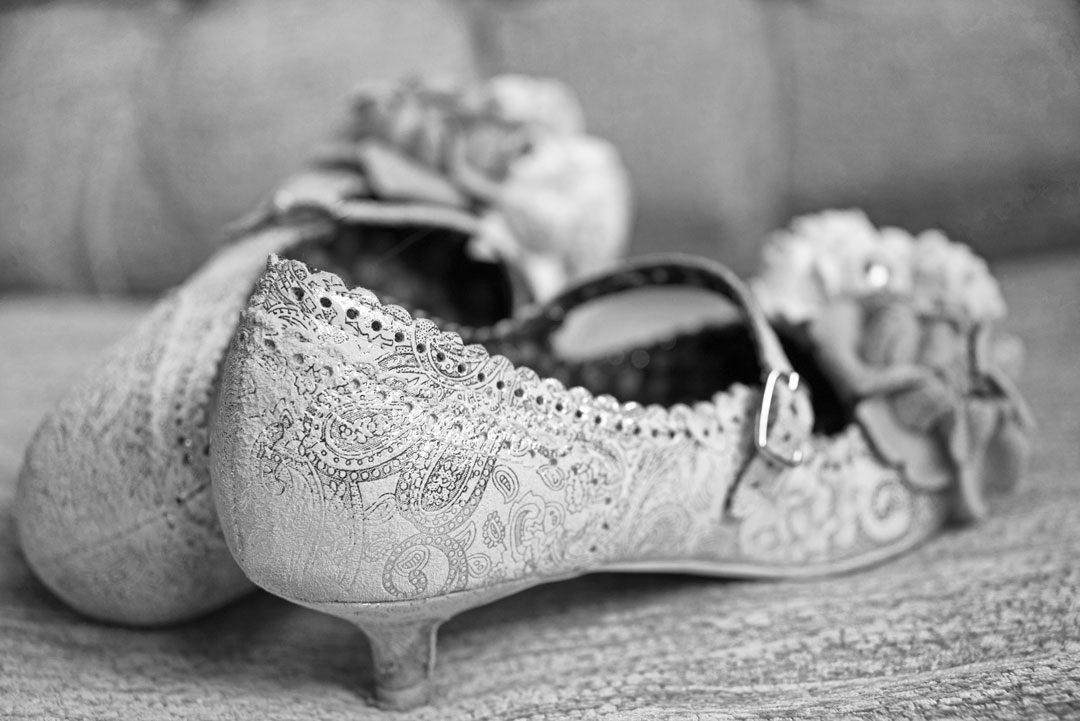 bridal shoes by Irregular Choice Wedding Photographer Nadina Bee