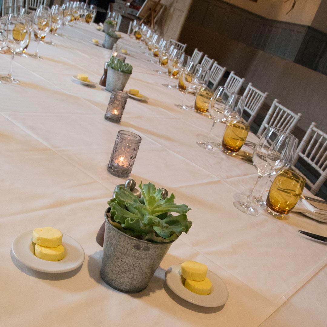 contemporary wedding reception at The Painswick Hotel, Wedding Photographer Nadina Bee